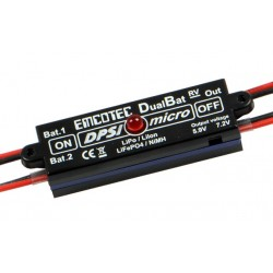 DPSI Micro DualBat 5.9V/7.2V JR - dual power supply