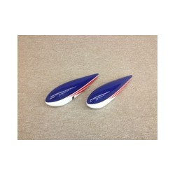 "Wheel Pants Extra 91"" Blu Extreme Flight"
