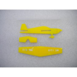 Stick plane Slick 580 Giallo